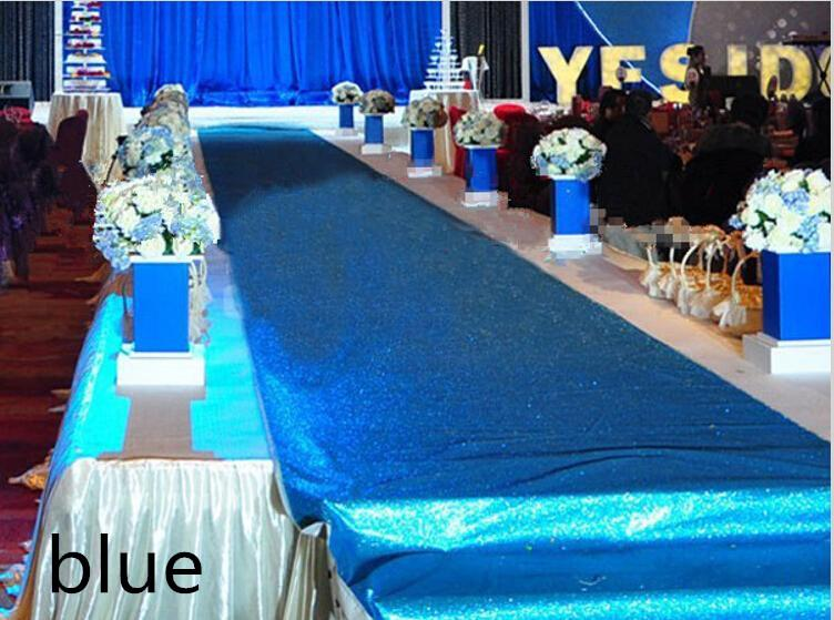 Fashion Wedding Decor Pearlescent Carpet 1.2 m Wide Shiny Aisle Runner For Festival Wedding Decoration Props