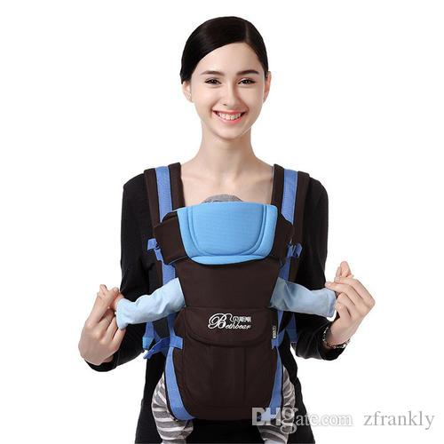 2254d16ecff 2019 0 2 Years Ergonomic Baby Carrier Backpack Pouch Breathable Front  Facing Sling Kangaroo Load Bearing 16kg Comfrotable Sling Multifunctional  From ...