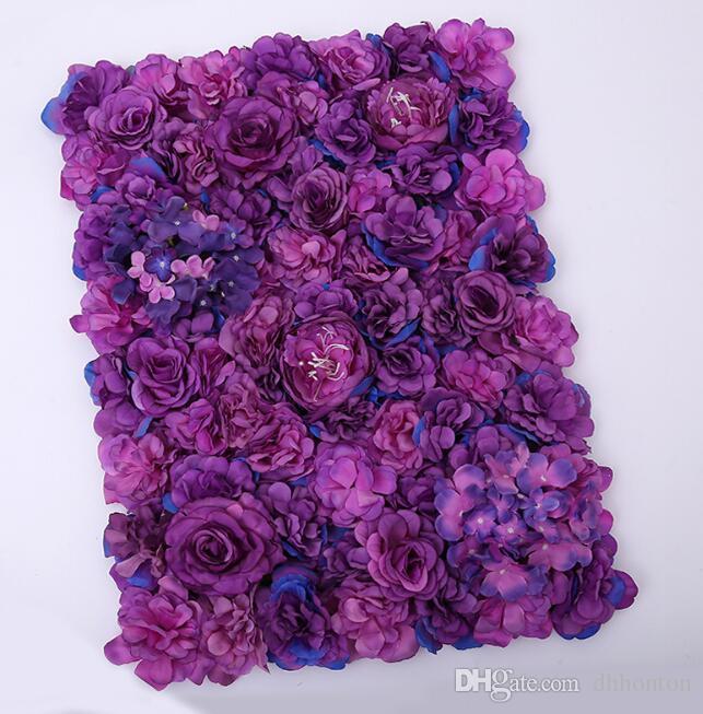 زهرة الجدار الحرير روز الزخرفه جدار التشفير الزهور خلفية الزهور الاصطناعية الإبداعية مرحلة الزفاف الدعائم التسوق مجانا WT048