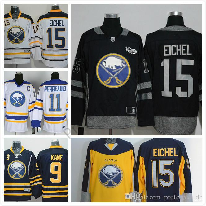 999b175e0 Men s Buffalo Sabres  15 Jack Eichel  9 Evander Kane  11 Gilbert ...