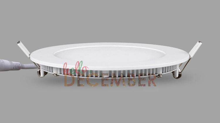 3W 6W 9W 12W 15W 18W 21W 30W regulable Redondo / cuadrado Panel de luz LED empotrado Lámparas de techo LED Downlight