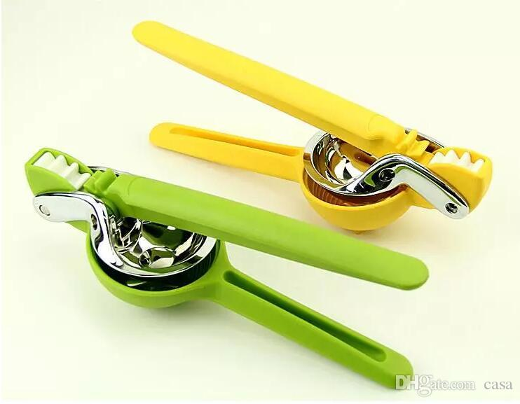 High Quality Stainless Steel Hand Press Manual Juicer Lemon Orange Lime Squeezer Kitchen Cookware Fresh Juice Tool