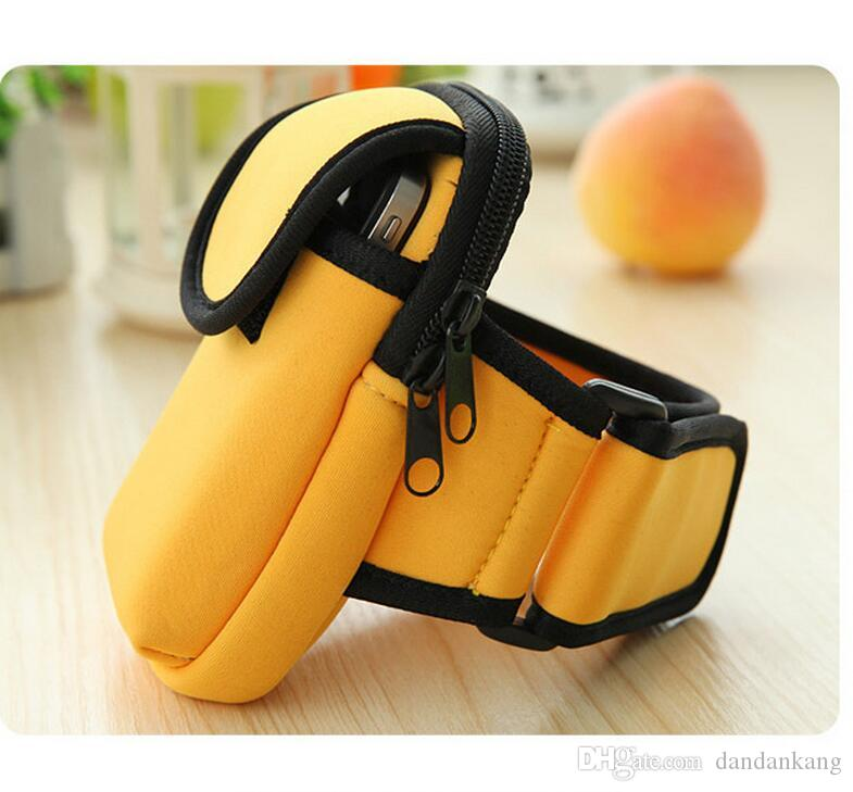 Portable outdoor running cycling trekking phone arm bags yoga fitness waterproof armband case Armband Holder Pounch Phone Bag Arm Band
