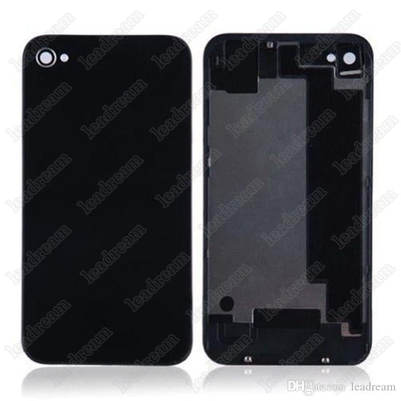 Back Glass Full Housing Back Cover Battery Cover with Flash Diffuser for iPhone 4 4s