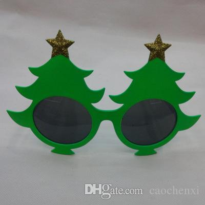 2017 fun christmas tree dress up costume props party favor glasses for christmas festival party new year decorative gift from caochenxi 071 dhgatecom - Costume Props