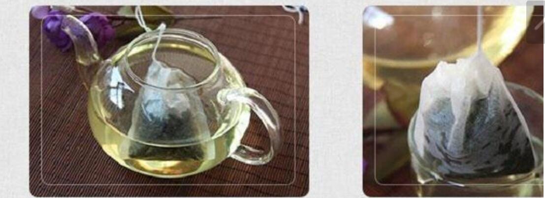 60 x 80 mm Zellstofffilterpapier Einweg-Teesiebfilterbeutel Einzelner Kordelzug Heilen Siegel Teebeutel Kein Bleichmittel Go Green