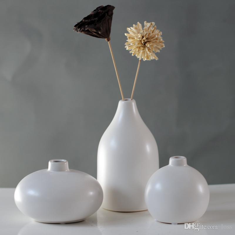 Großhandel Weiße Keramische Vase Moderne Minimalistische Wohnzimmer ...
