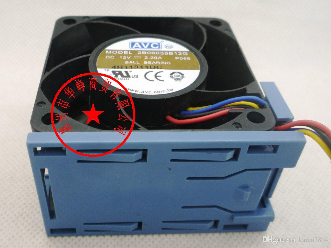 НМБ 6038 2415KL-04W-B86 12 в 1.65 В вентилятор для Dell сервер PowerEdge 2850 сервер,PSD1206PMBX-в АВК 2B06038B12G 60*60*38мм