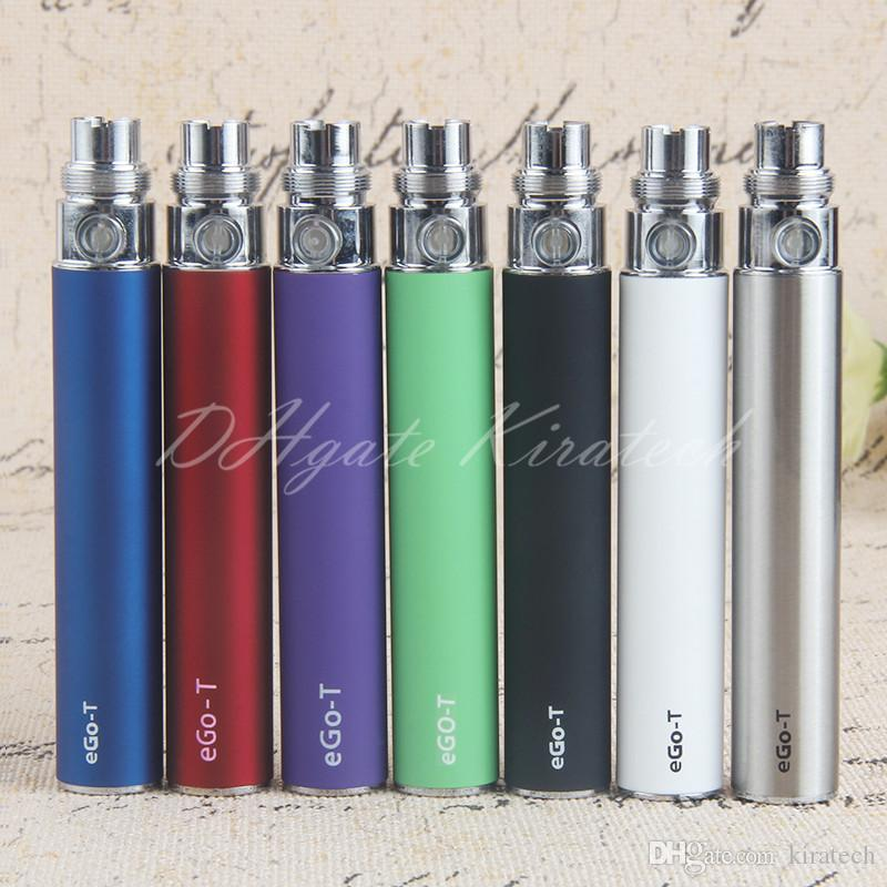 eGo Vape Pen eGo-t 510 Thread 650mah 900mah 1100mah Batteries Ecigarette Electric Vaporiser For CE3 CE4 MT3 H2 Pro Tank Atomizers Vaping