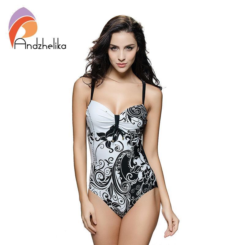 7c4a272e59 2019 L 7XL Plus Size Swimwear Sexy One Piece Women Swimwear White Floral  Printing High Waist Bodysuit Swimsuit Monokini TG1051A From David2004