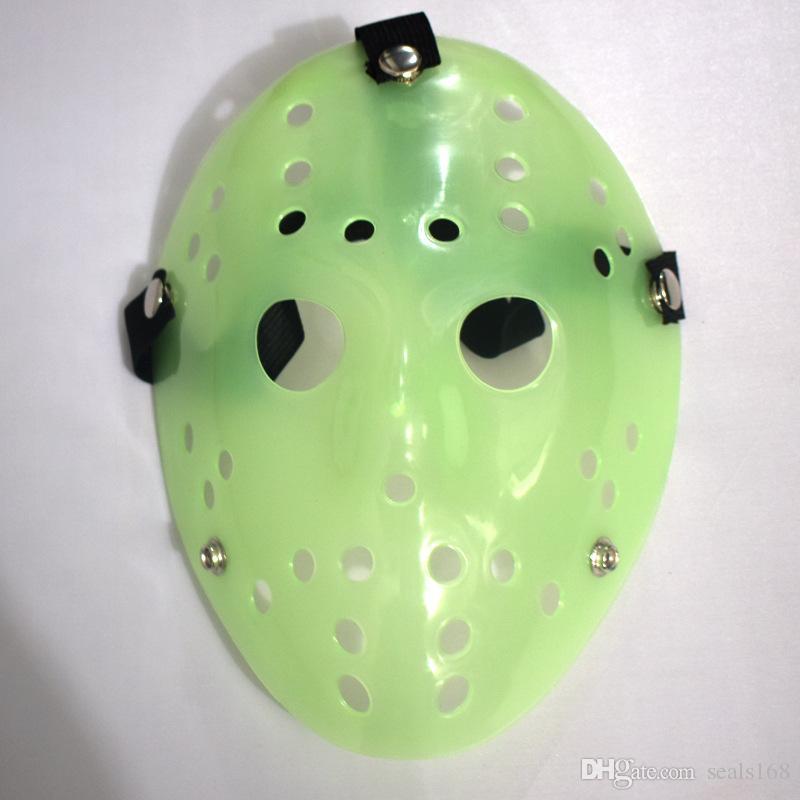 Maske Neue Jasons Halloween Kostüm Maske Scary Die 13. Eishockey-Maske Cosplay Weihnachtsfest Partei HH7-113