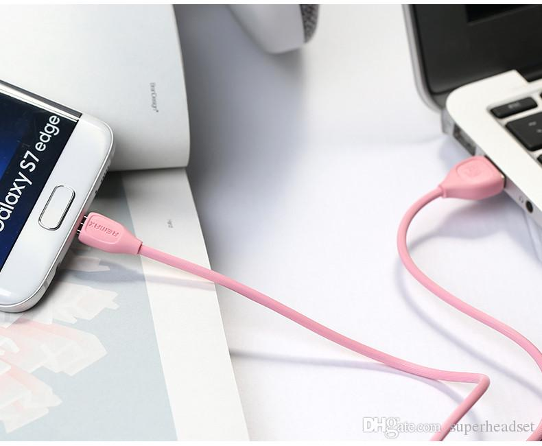 Remax USB Cable Fast Charging Data Sync Cable For android samsung with retail Package
