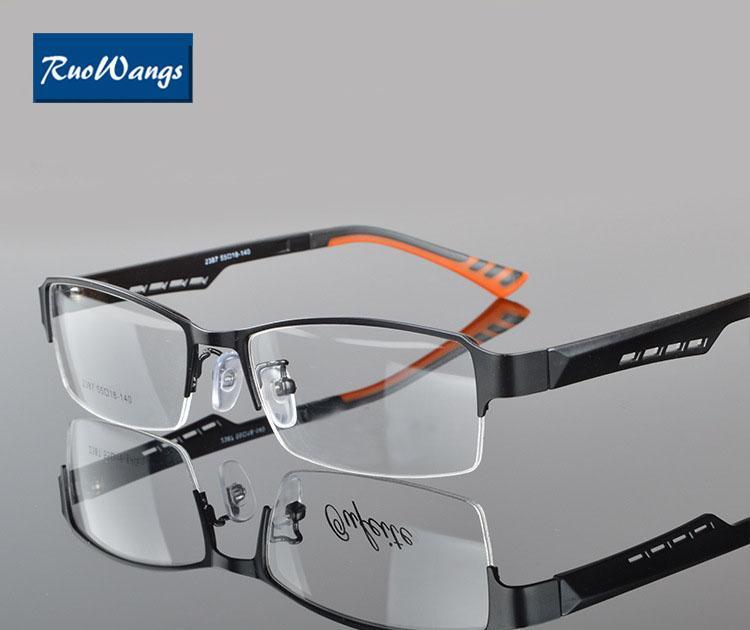 5a2b83f006 2018 Wholesale RuoWangs Men Spectacle Frame Oculos De Grau Glasses Optical  Eyeglasses Frame Eye Glasses Men Prescription Glasses Eyeglasses Men From  Jutie