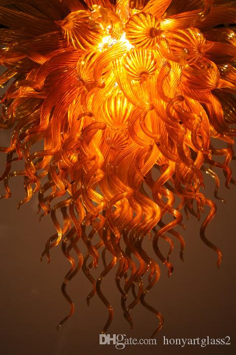 100% Mouth Blown Borosilicate High Quality Turkish Mosaic Lamp Murano Glass Art New Style Crystal Chandelier Light