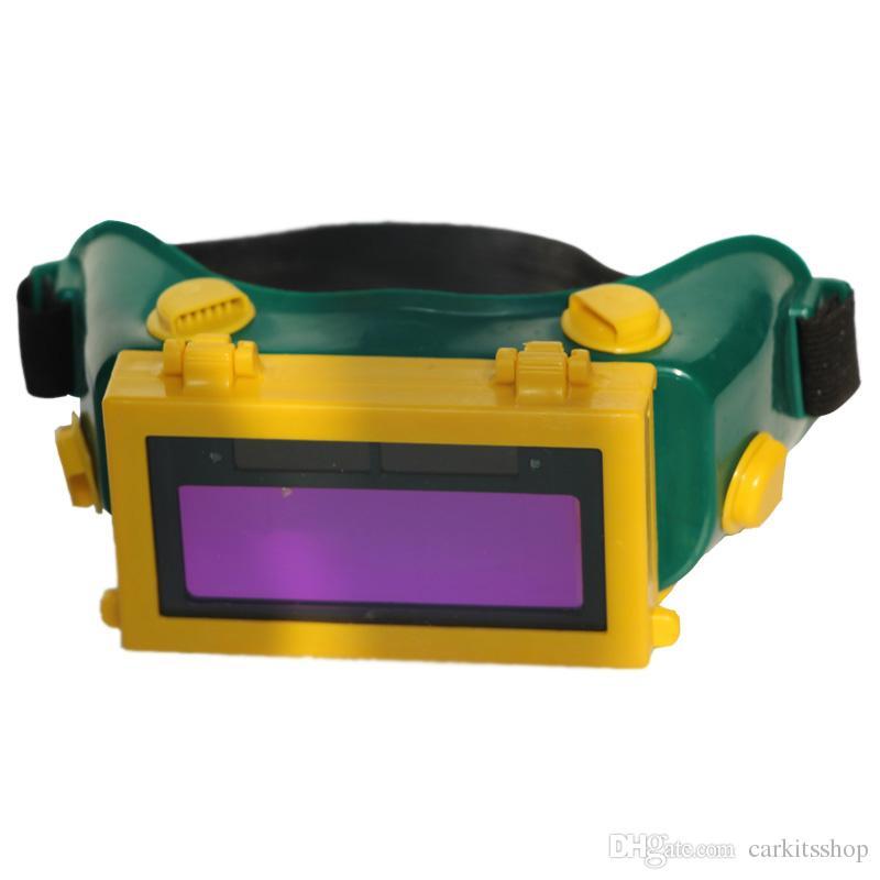 Casque de soudage automatique solaire masquant les yeux lunettes de soudeur lunettes soudeur travail sécurité de travail lunettes de protection