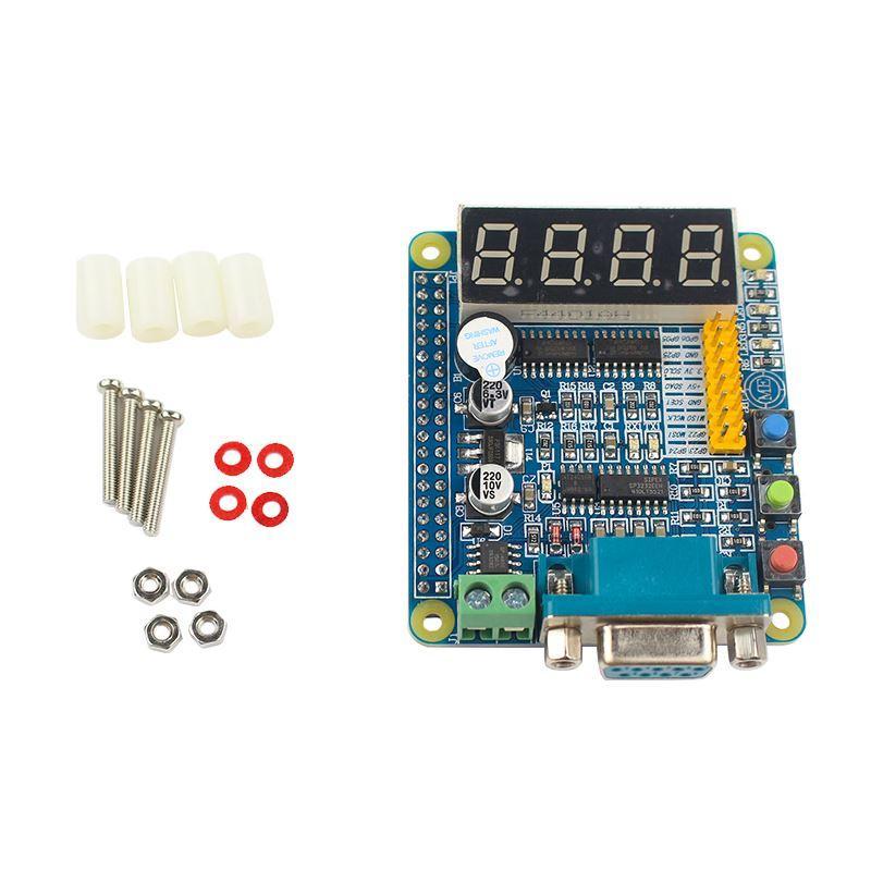 Freeshipping Raspberry Pi 3 GPIO-232 Expansion Board LED Nixie Tube 485 232  UART Keys Multifunction GPIO Extension Board