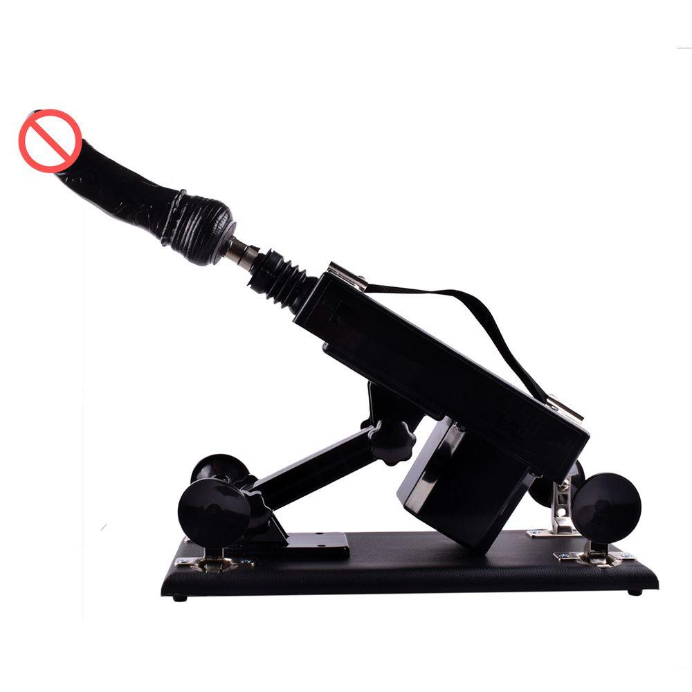 Luxo Automatic Sex Machine para Homens e Mulheres Sexual Intercourse Robot com Muitos Anexos Dildo e Masturbação Masculina Xícara de Brinquedos Sexuais