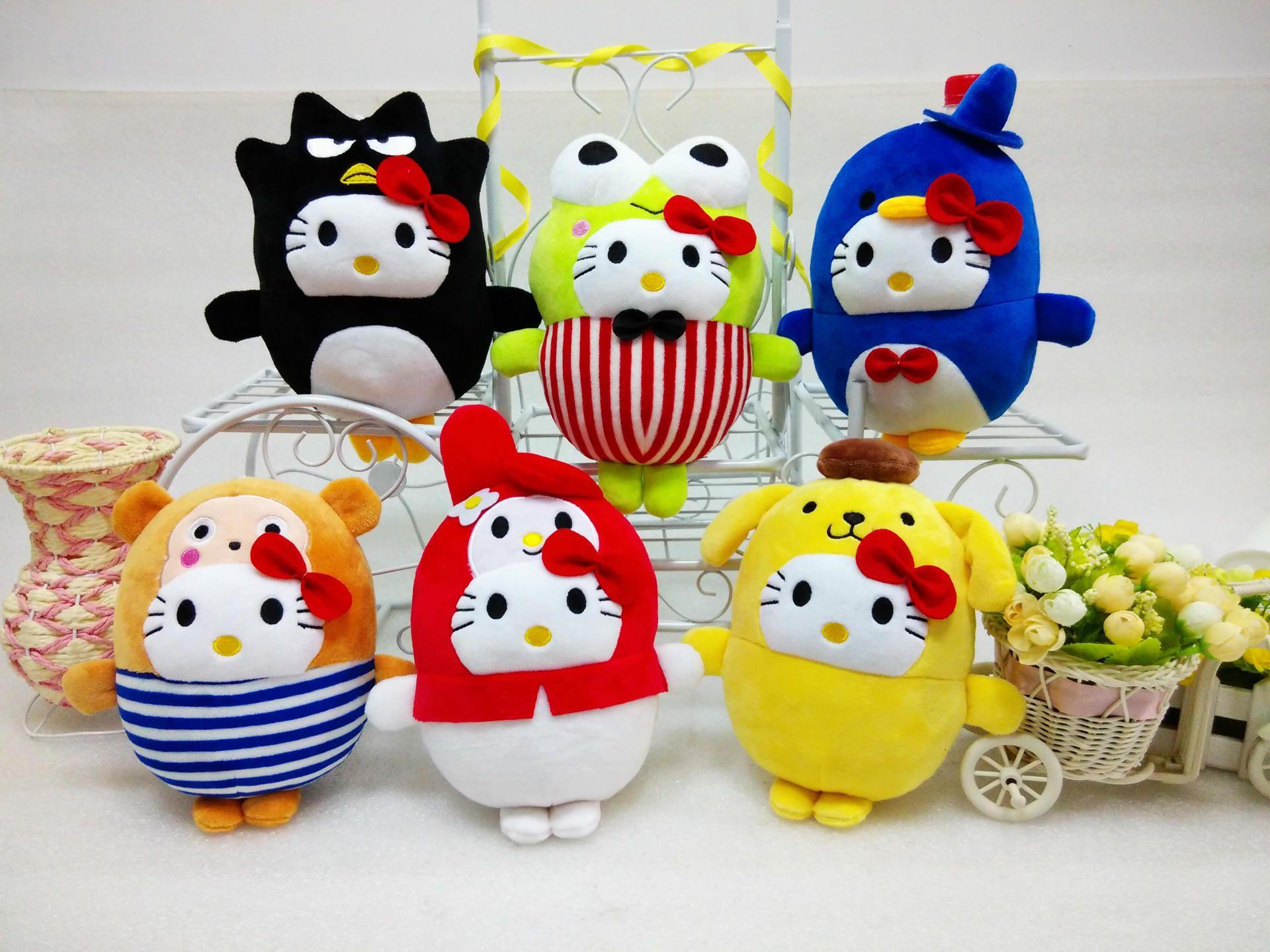 Hello Kitty Plush Toys : Happy birthday hello kitty lots of new stuff to celebrate u japanla
