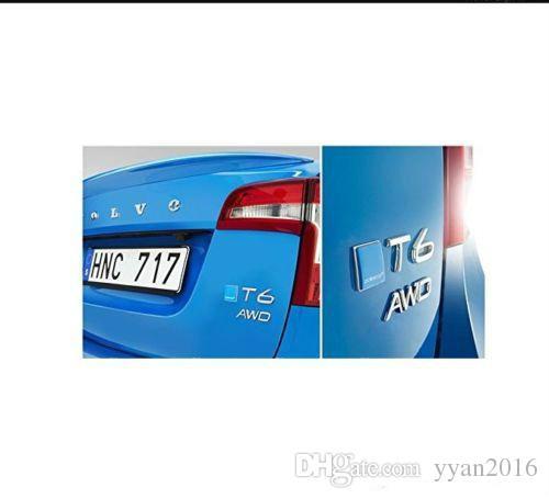 Neue Polestar Volvo Blau Metall S60 Xc60 V60 S80 XC90 Geändert Auto Aufkleber Abzeichen Aufkleber für Volvo Kostenloser versand