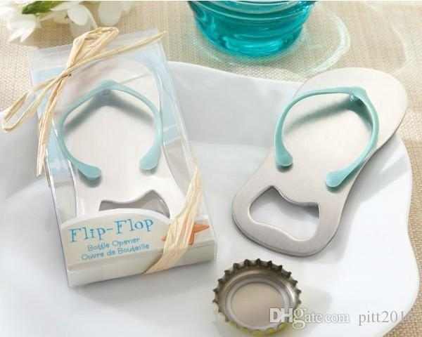 Beach Wedding gifts Flip Flop bottle opener Wholesale wedding favors and gifts for guest Party favors