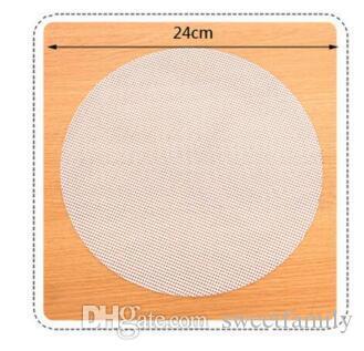 24cm Rond Silicone Cuiseur Steamer écologique Cuit à la vapeur Stuffed Bun Pain Pad Cuiseur à la vapeur Steamed Dumplings Mat