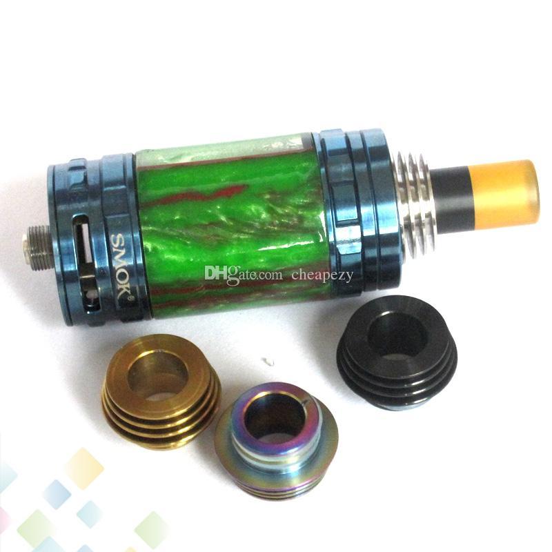 Adattatore da 810 a 510 Drip Tip TFV8 TFV12 810 Atomizzatore Serbatoio adattatore Adattatore E sigaretta in acciaio inox Materiale DHL Free
