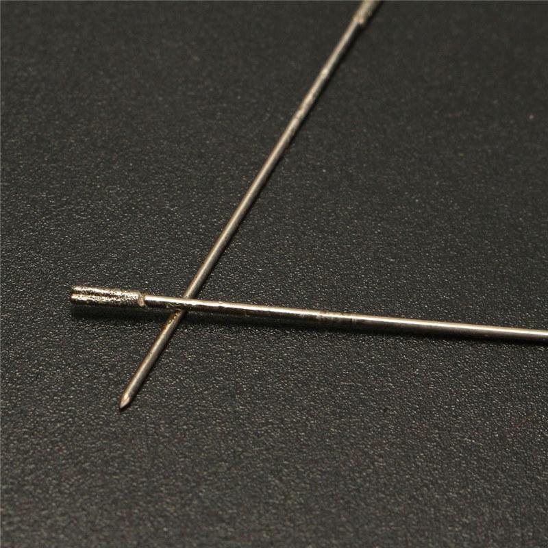 أعلى بيع 20 قطع 1 ملليمتر لقم الماس الحفر حفرة الماس هول الحفر للمجوهرات العقيق أحدث الساخن بيع