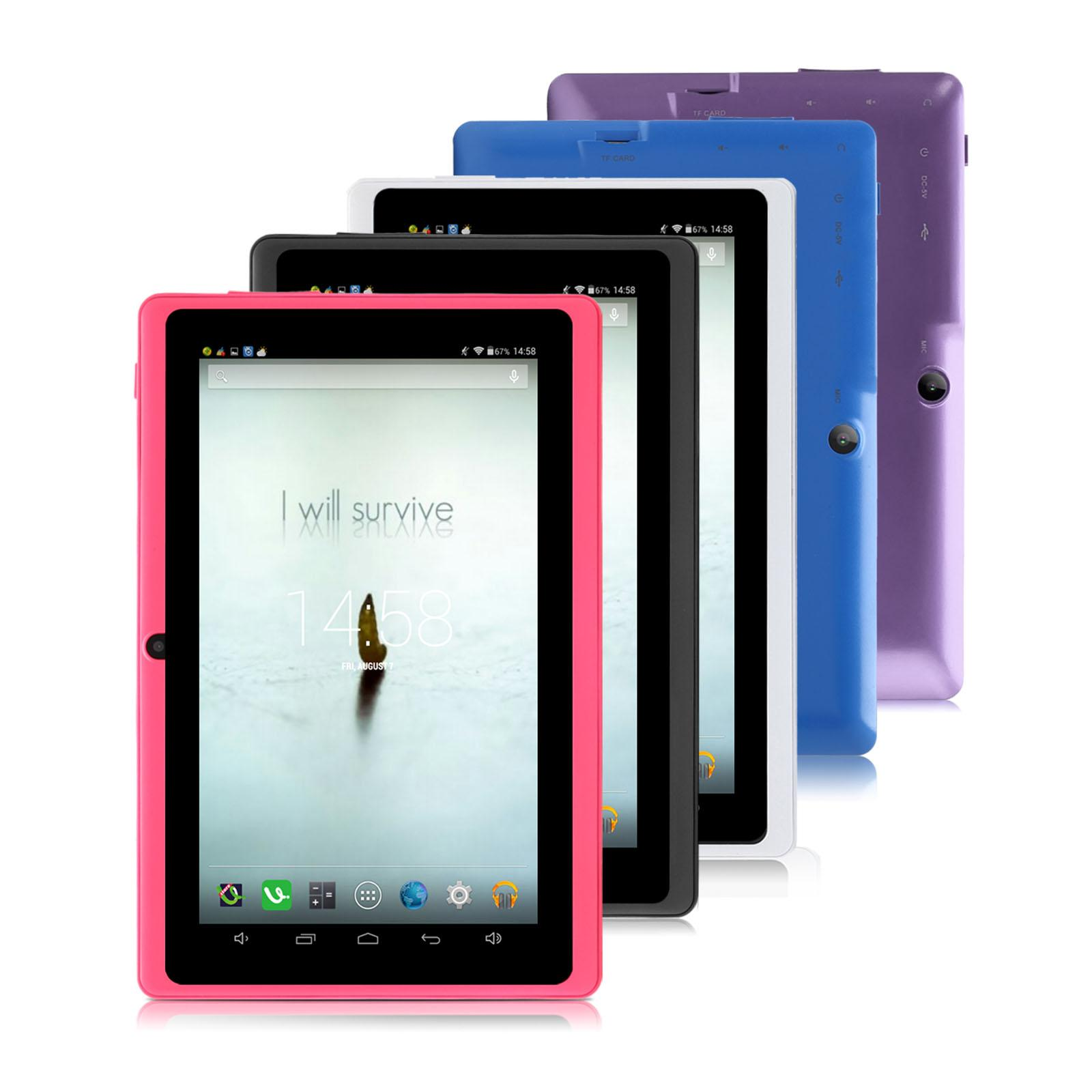 "US Stock! IRULU eXpro 3 Tablet Multi-Color 7"" Q88 Google GMS Android 6.0 Quadcore Dual Cameras 1GB+8GB/16GB Tablet PC"