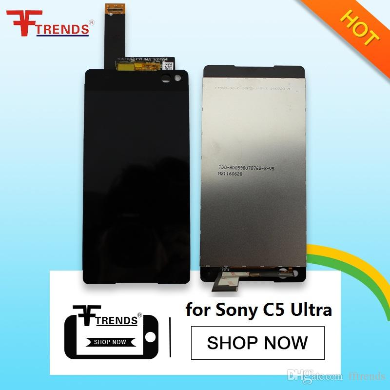 High Quality A+++ for Sony Z2 Z4 Z5 C5 Ultra LCD Display & Touch Screen Digitizer with Frame Full Housing Black White