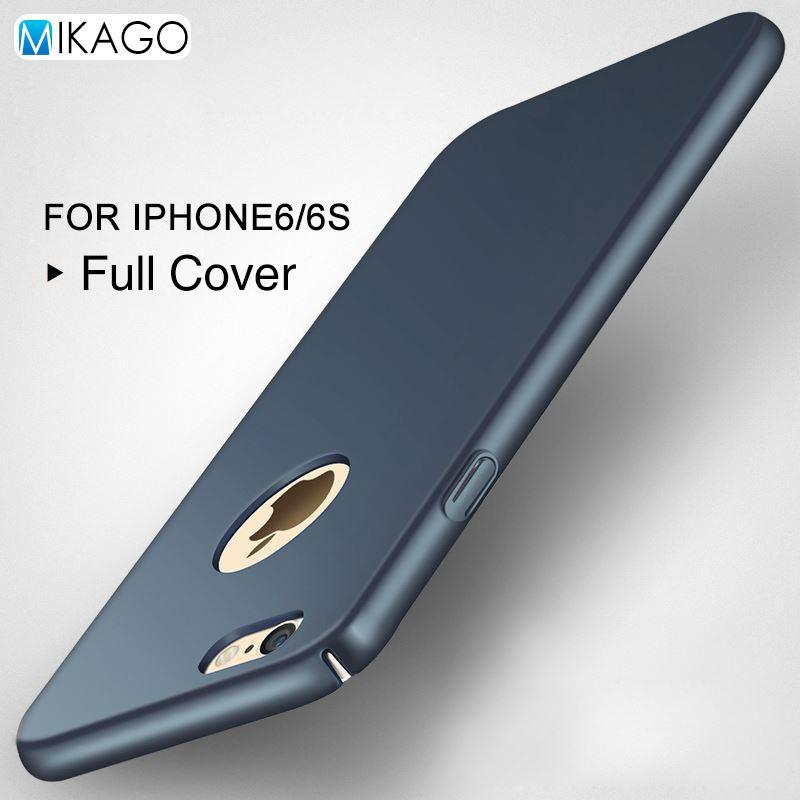 size 40 54091 3c6d9 2017 New Full Cover Colorful Hard Plastic Case 4.7For iPhone 6s Case For  Apple iPhone 6s 6 7 7plus Cell Phone Back Cover Unbreak Mobile Case