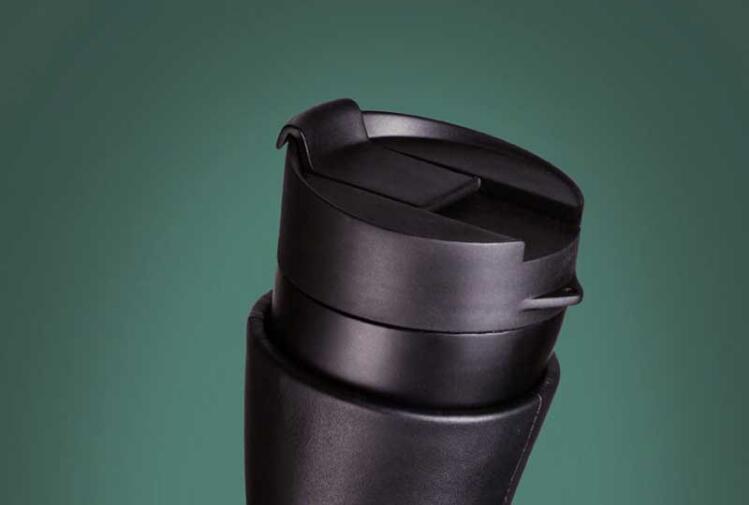 Creative Goat Horns Tazza da caffè Tazza in acciaio inox Isolamento a vuoto Thermos Flask Couple Travelling Cup Water Bottle