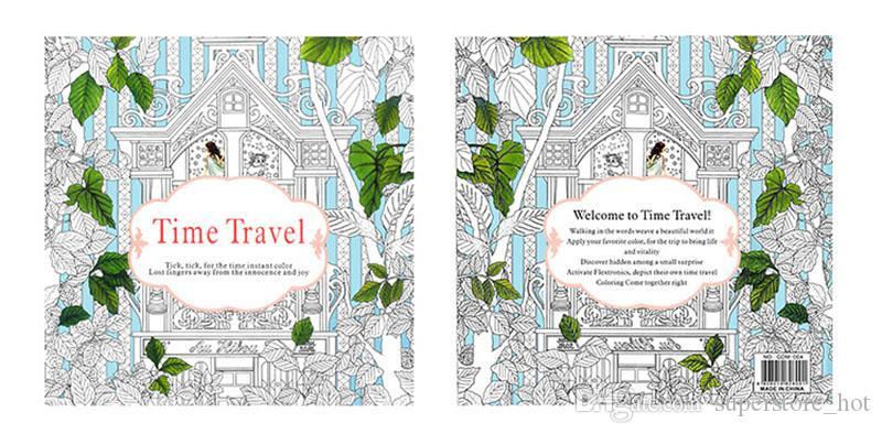 90 Coloring Book Enchanted Garden