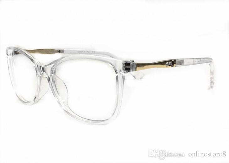 Мода Optical очки роскошь ясно объектив солнцезащитные очки Мужчины женщины чтение тени Мода ретро очки с коробкой