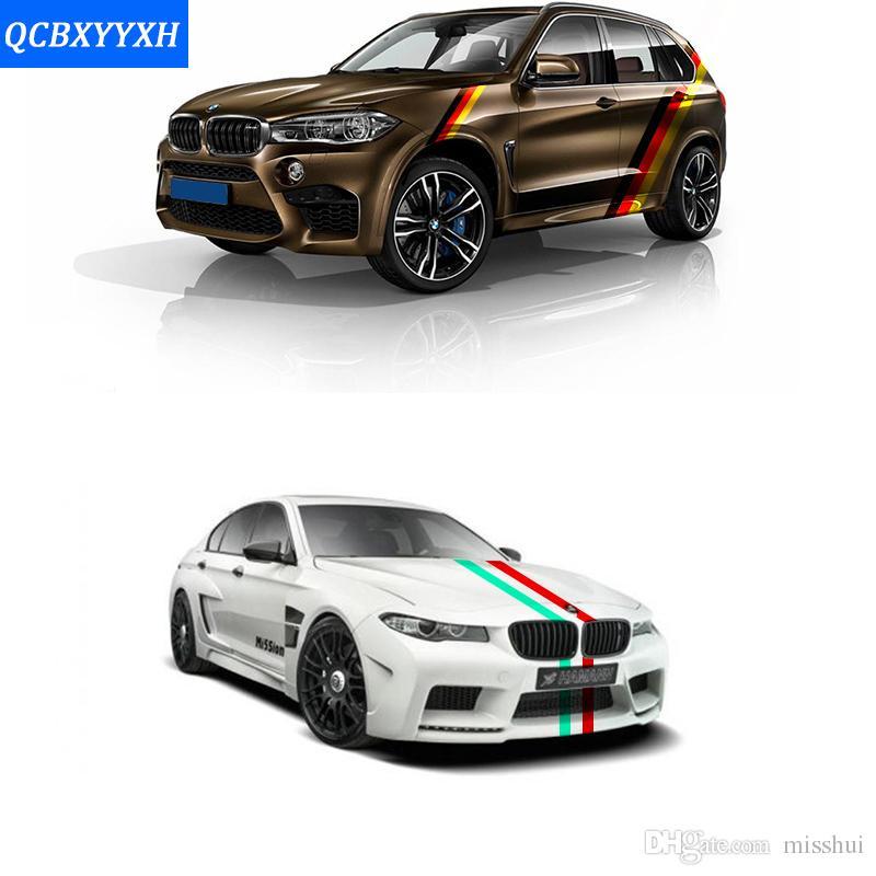 15 х 100 см ПВХ автомобиля всего тела удар смешные наклейки наклейка для BMW Audi Skoda VW Lada Ford Toyota Opel Insignia KIA