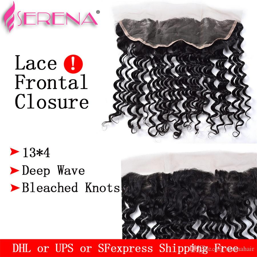 20 Inch Frontal Brazilian Body Wave Deep Wave 4 Wefts With Closure Human Hair With Frontal Malaysian Hair Bundles With Lace Frontal Closure