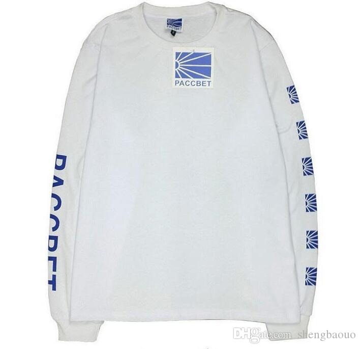 Paccbet T Shirt Slim Long Sleeve Men Russia 100% Cotton Gosha ...