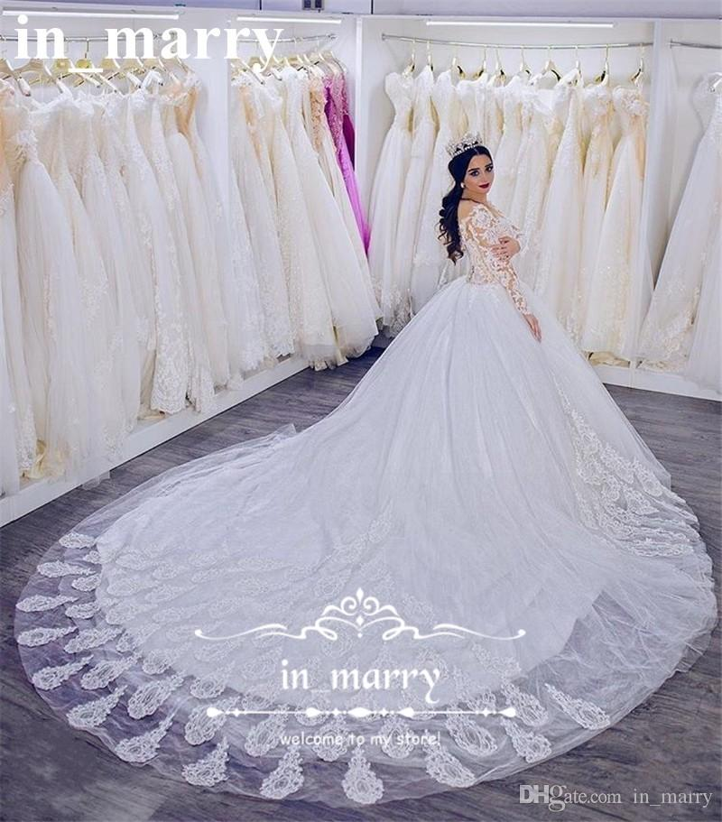 Spanish Lace Wedding Gown: Victorian Vintage Lace Ball Gowns Wedding Dresses 2017