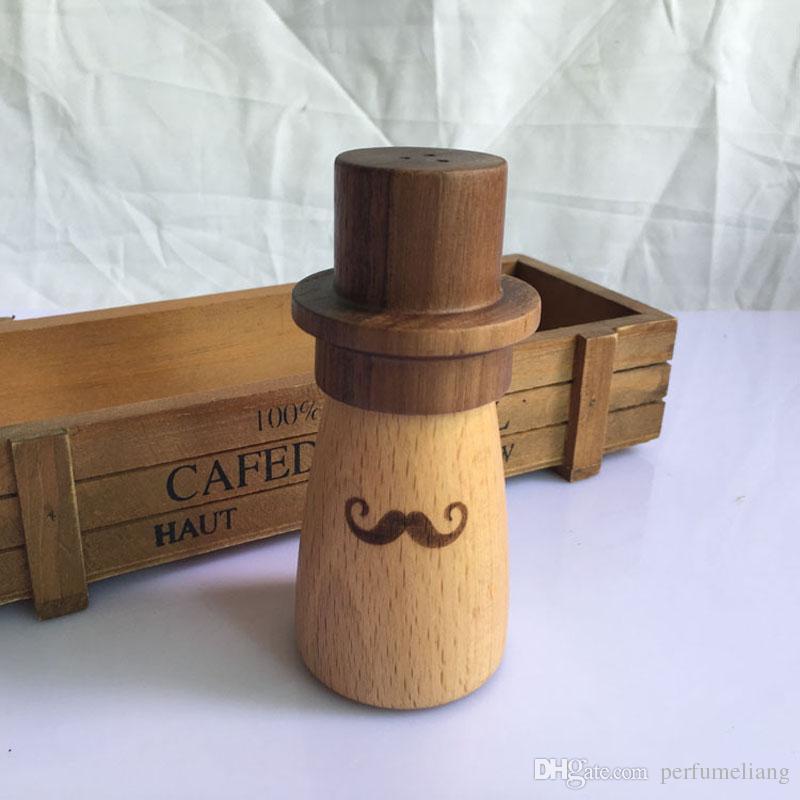 Simple porte-cure-dents en bois personnalisé champignon boîte à cure-dents boîte ornements de bureau maison restaurant décoration cadeau gratuit shippng za3031