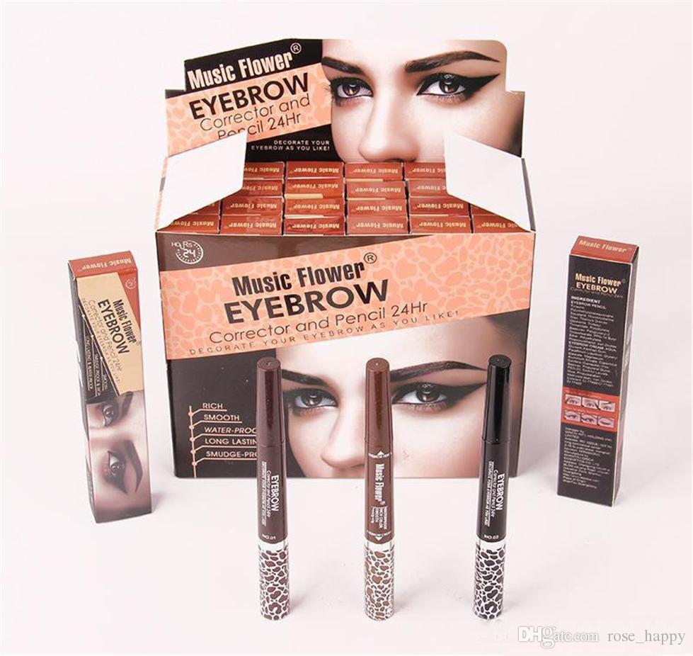 Music Flower Auto Eyebrow Pencil And Gel Fantasy And Easy Apply Hd