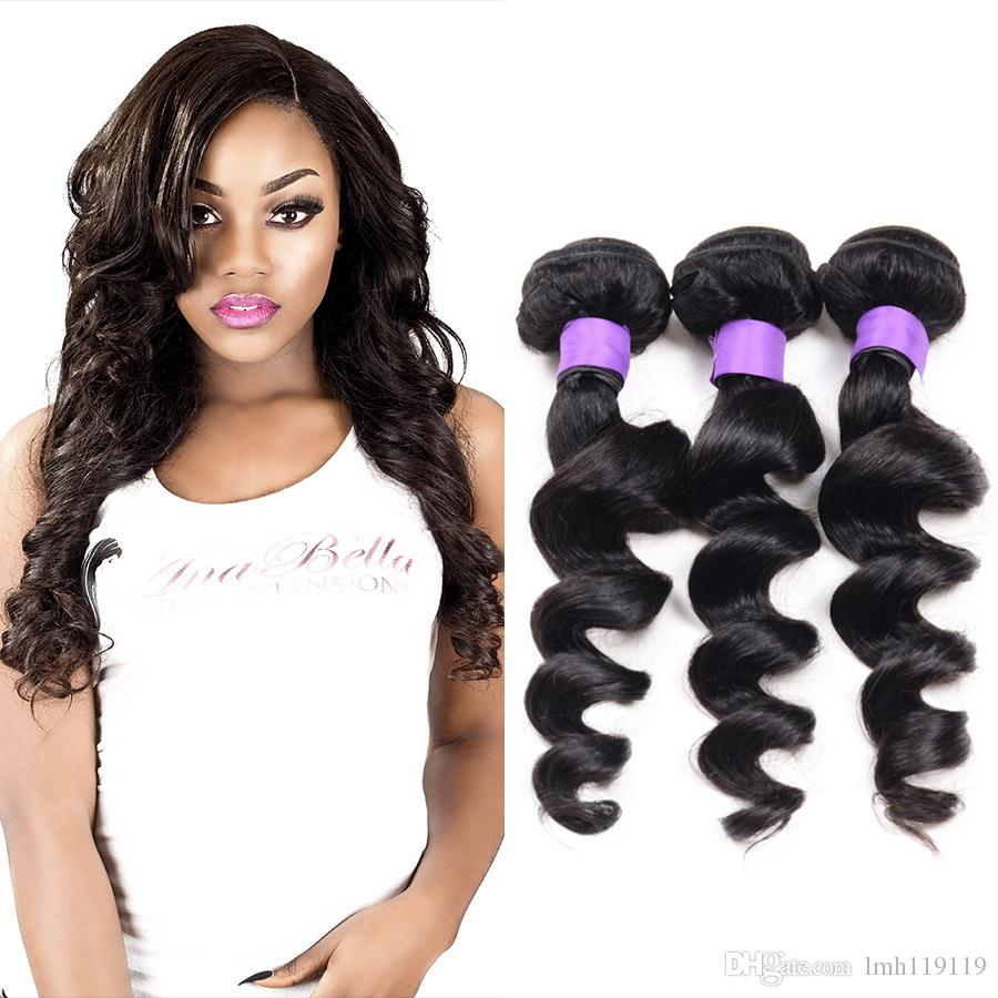 Latest Coming Loose Wave Human Hair Unprocessed Beautiful Price