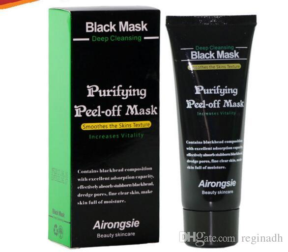 Wholesale Black Suction Mask Anti-Aging 70ml SHILLS Bamboo Charcoal Deep Cleansing purifying peel off Black face mask Remove blackhead Peel