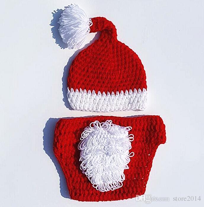 RECIÉN NACIDO bebé 100 días ángulo conjuntos de ropa de Navidad accesorios de fotos niños niños pequeños niño niña alegría divertida ropa sombrero pantalones Navidad