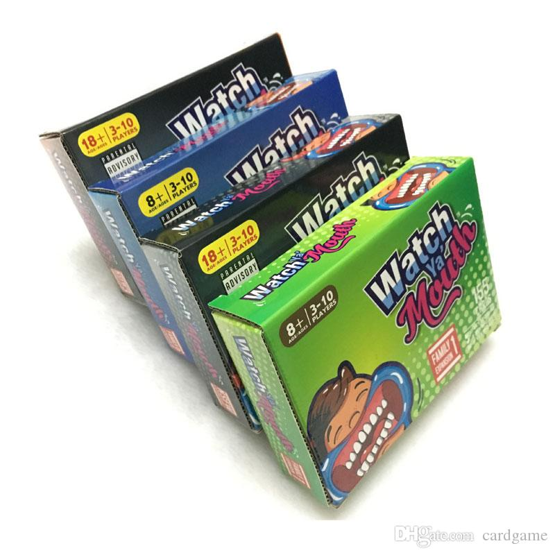 Watch Ya Mouth Adult Phrase Card Game Expansion Pack Funny Family Party Christmas Board Game
