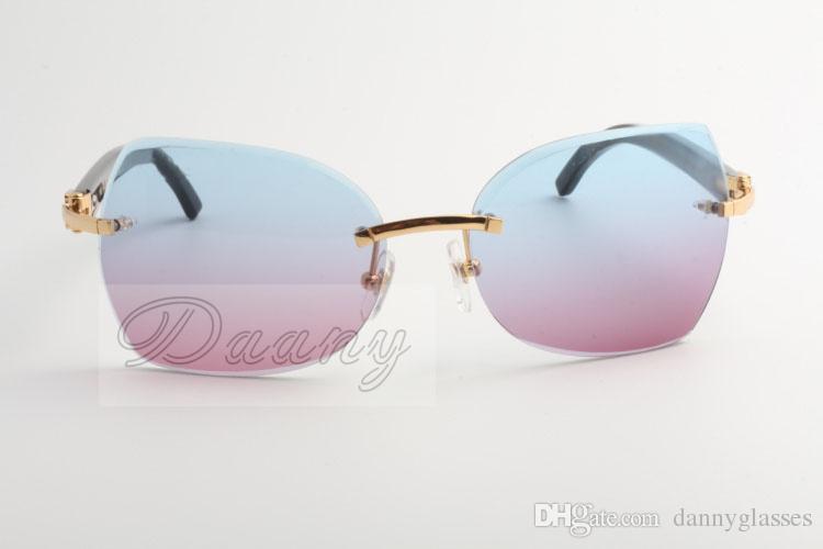 La mia azienda vende occhiali da sole d'oro, nuovi tipi, 8300818 occhiali da sole di alta qualità, occhiali alla moda e angoli neri: 60-18-140 mm