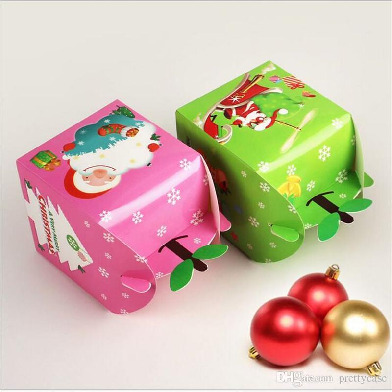 Großhandel Weihnachtsabend Geschenk Netter Katze Karikatur Papier ...