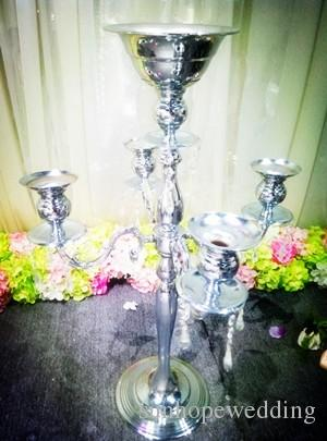 Wholesale large and tall glass crystal flower vases for centerpieces