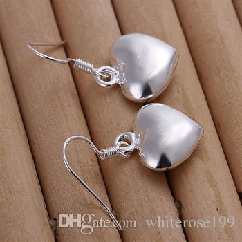Wholesale - lowest price Christmas gift 925 Sterling Silver Fashion Earrings yE022