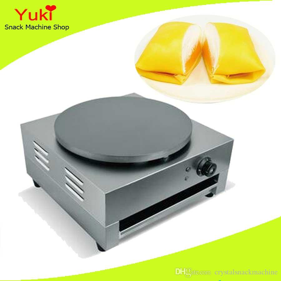 2019 110v 220v Electric Pancake Maker Small Automatic Machine Commercial Non Stick Pan For Crepe From Crystalsnackmachine