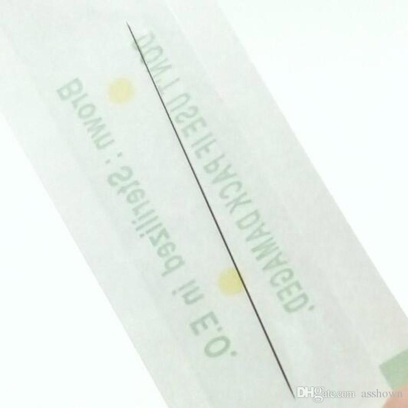 일회용 멸균 전문 문신 바늘 문신 눈썹 펜 기계에 대 한 1RL 영구 메이크업 키트 PMU 바늘 1R
