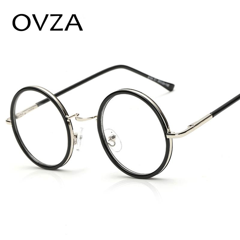 2018 Wholesale Ovza Round Metal Frame Eyewear Men Fashion Circle ...